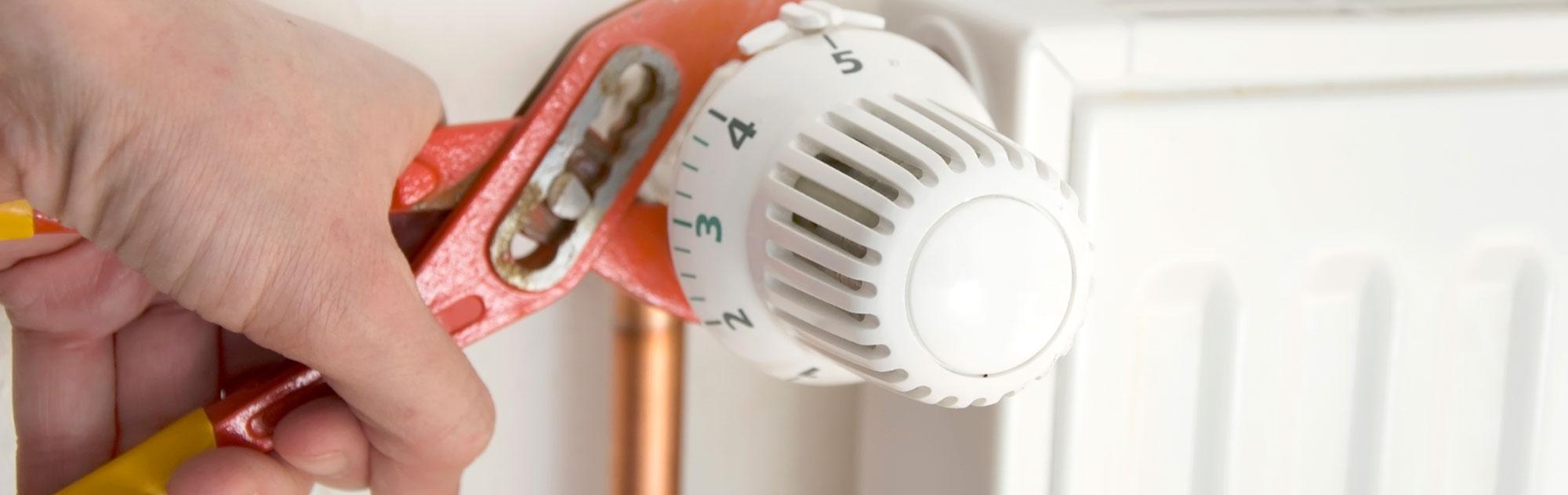 instalación fontanería y calefacción